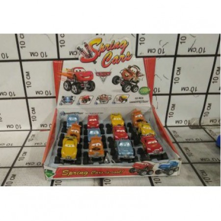 Машинки Тачки 12 шт. 399-10D