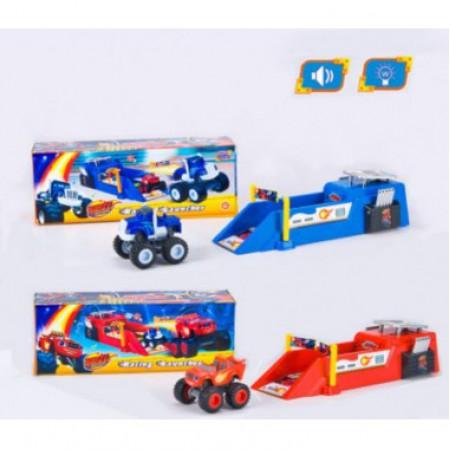 Игровой набор Скоростной трамплин Вспыша 828-50