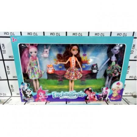 Куклы Зачарованные 3 шт. 11685
