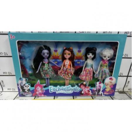 Зачарованные куклы 4 шт в кор. 11685A