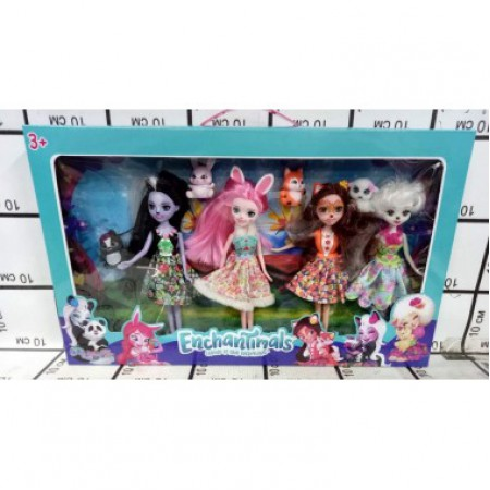 Зачарованные Куклы 4 шт. 11685B