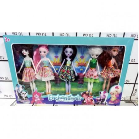 Зачарованные куклы 5 шт в кор. 11685С