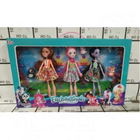 Зачарованные куклы 3 шт в кор. GJ11685