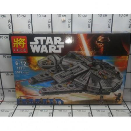 Конструктор Звёздные Войны 1381 дет. 79211